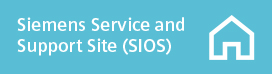 Siemens Service and Support Site (SIOS)